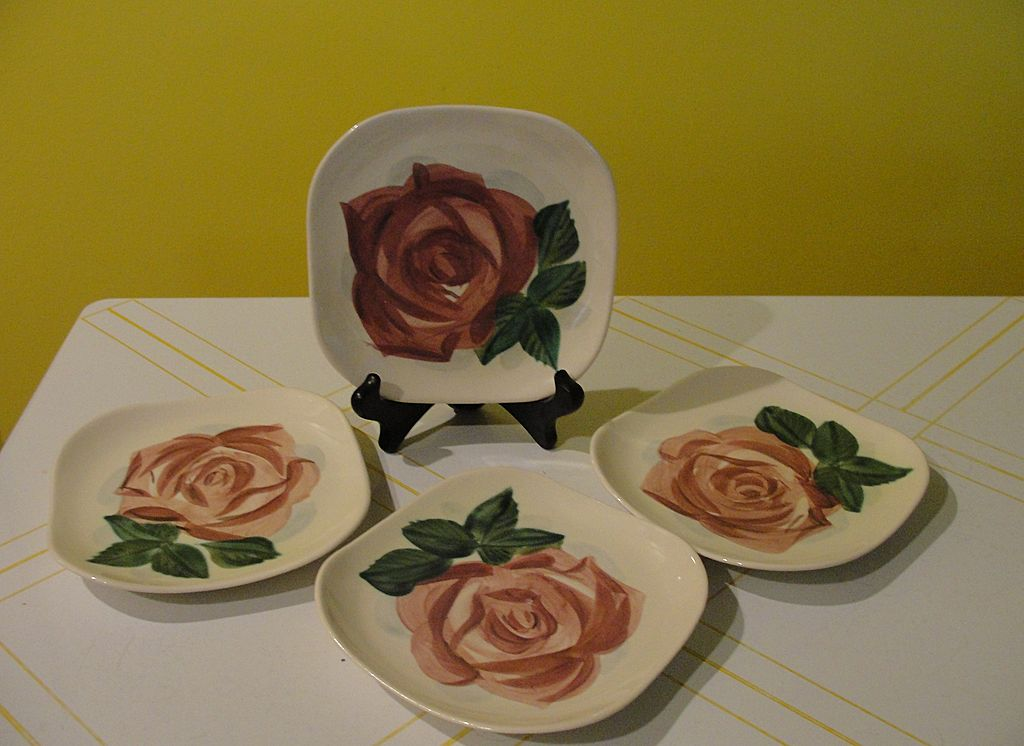 RedWing Lexington Mid-century Bread & Butter/cake Plates #2