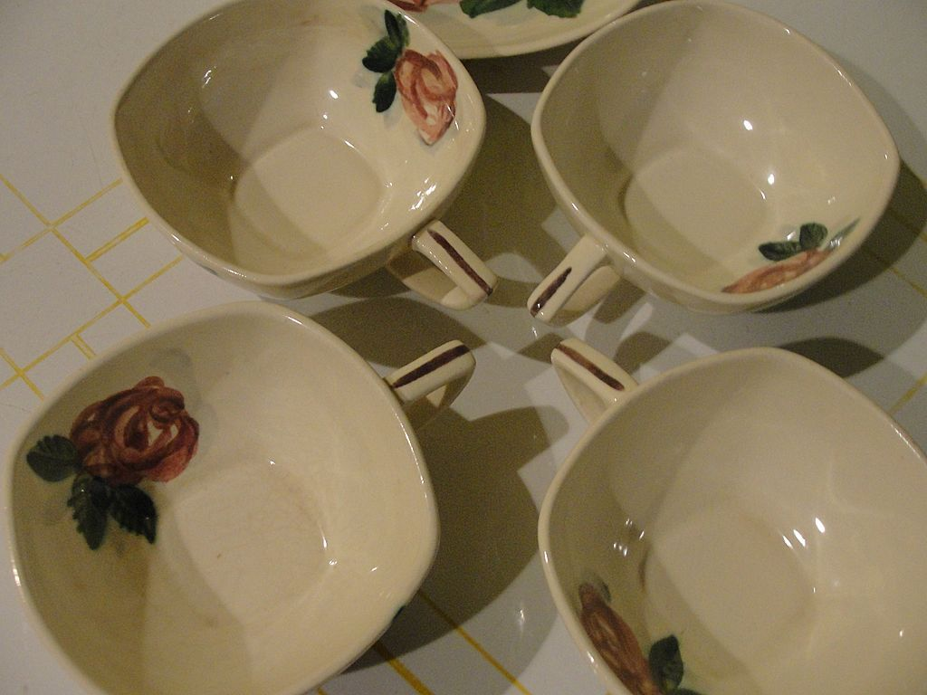 RedWing Lexington Mid-century Cups and Saucers