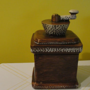 California Original Coffee grinder Cookie Jar #861