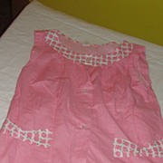 Cool as a Cucumber Pink Polka Dot Shorty PJ's - b31