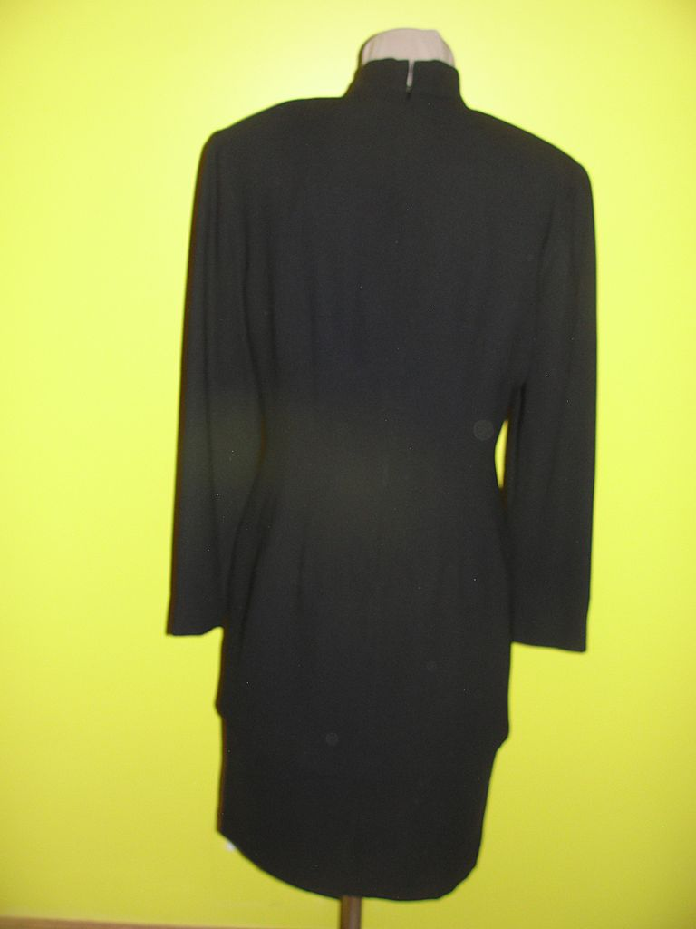 Asian Inspired Black Tunic Dress Size 8 From