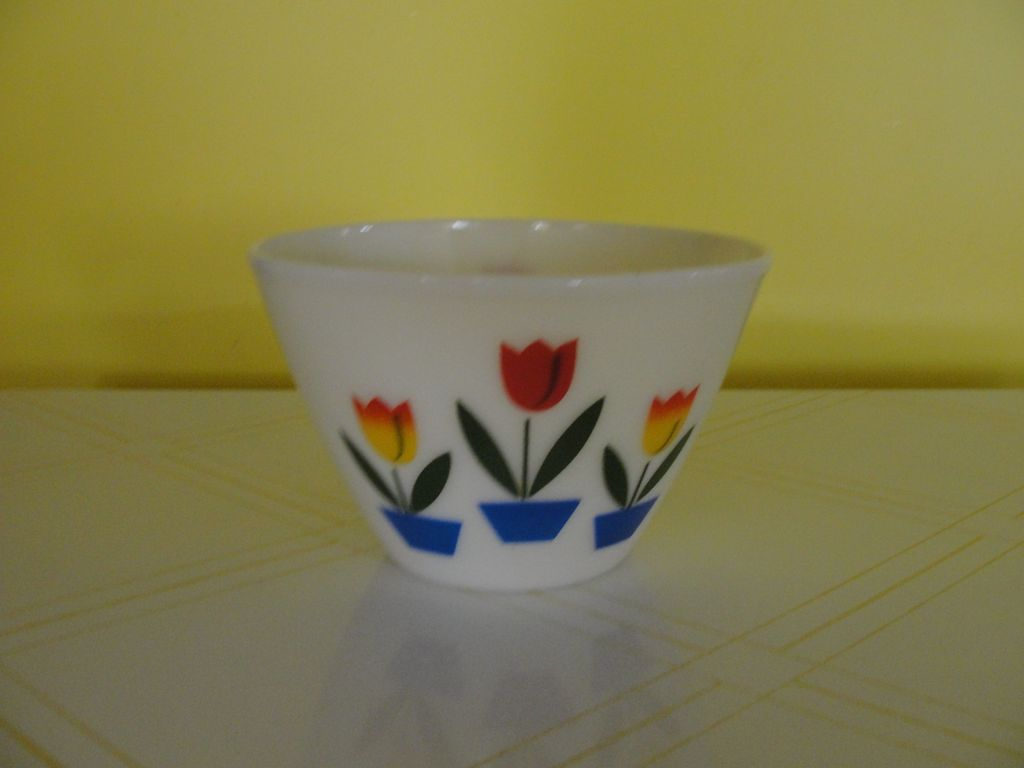 Largest Fire-King Tulip Mixing Bowl