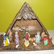 Made in Italy Manger - Nativity - Creche - b40 - Red Tag Sale Item