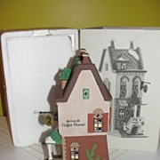 Dept 56 Christmas in The City Spring St Coffee House 5880-7