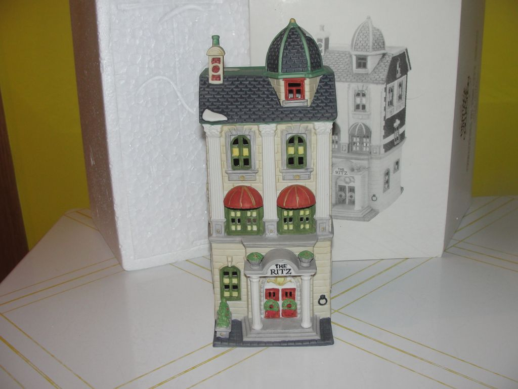 Dept 56 Christmas in the City Ritz Hotel