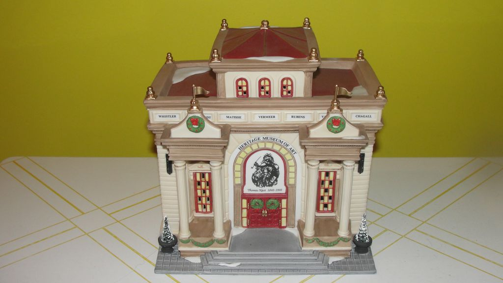 Dept 56 Christmas in the City Heritage Museum of Art
