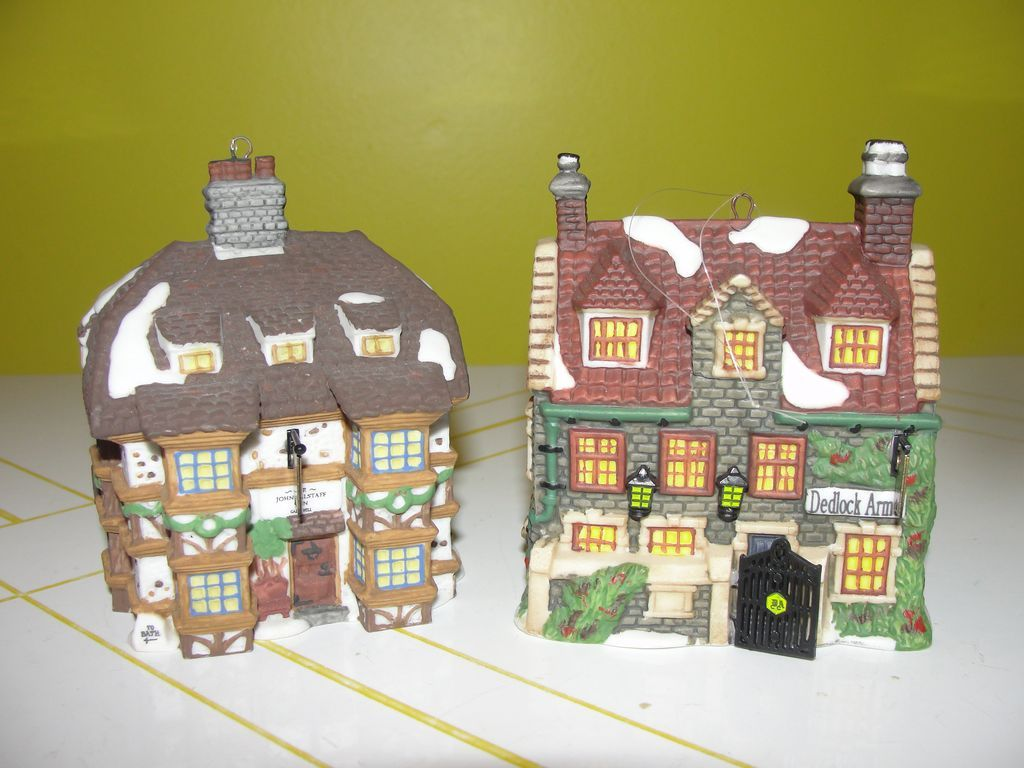 Dept 56  Dickens village A Christmas Carol Christmas ornaments