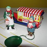 Dept 56 Popcorn Vendor 56-5400