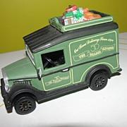 Dept 56 Christmas in the City Express Van - Green #58653