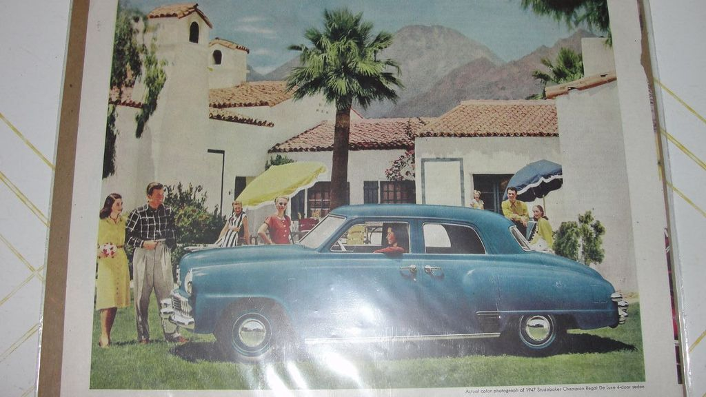 1947 Studebaker Saturday Evening Post Ad