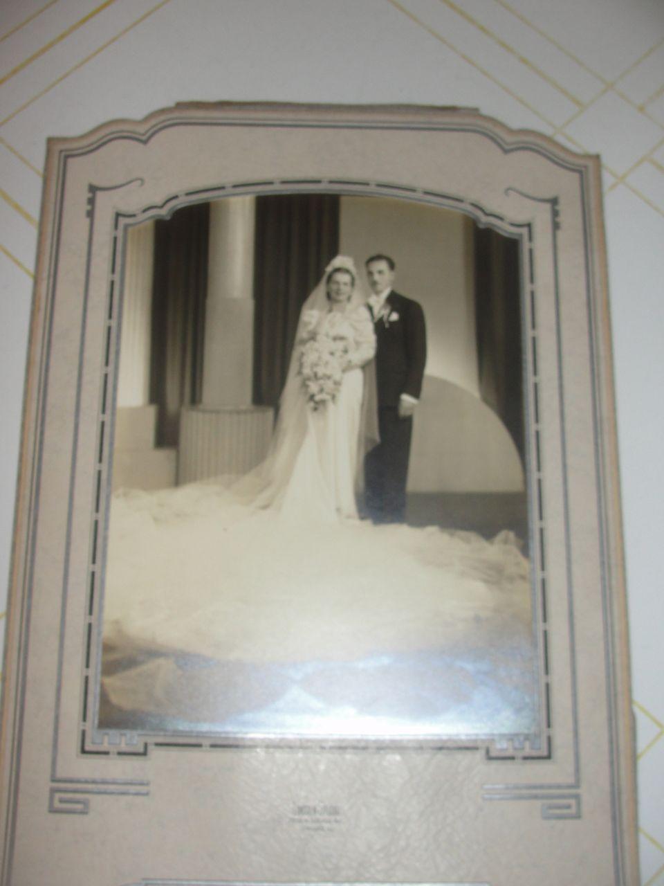 Yards of Tulle Wedding photo