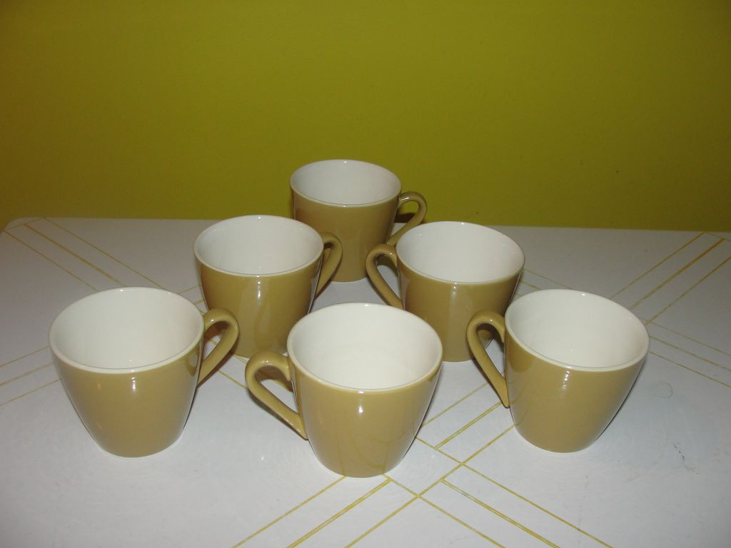 Mid-century Atomic Design Star Glow Royal China Cups
