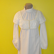 Nice Day For a white Wedding Dress with Velvet Juliette Jacket - Red Tag Sale Item