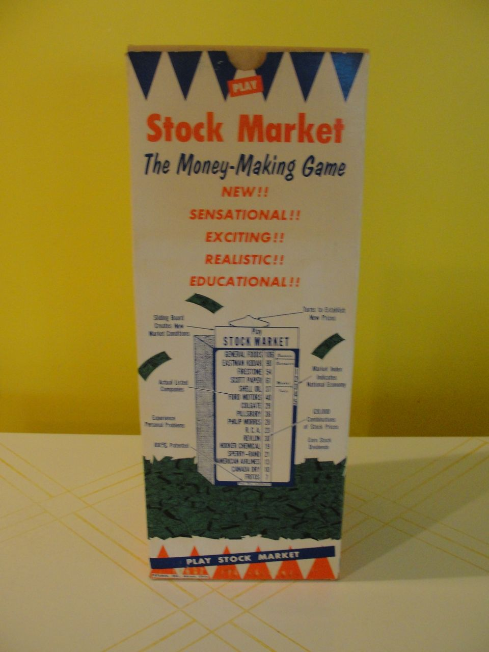 The Making Of Where Do Little Spiders: Stock Market The Money Making Game From Hodgepodgelodge On