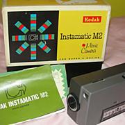 Kodak Instamatic M2 Movie camera No D32 - b47 - Red Tag Sale Item