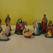 Christmas 12 Piece Nativity Set - b36