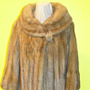 Sweet as Honey Mink Coat