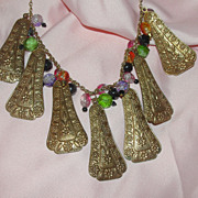 Jingle Jangle Beaded Necklace - Free shipping