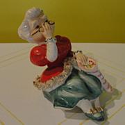 Lefton Mrs Clause shelf Sitter - b49
