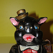 ''For my Mink Coat'' Piggy Bank - b53