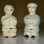 It's a Small World Asian Couple Salt and Pepper Shakers