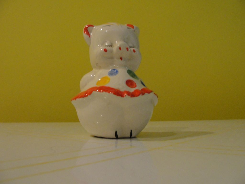 Shawnee Polka Dot Pig Piggy Bank