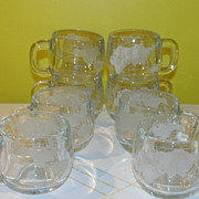 Nestle Globe Glass Mugs