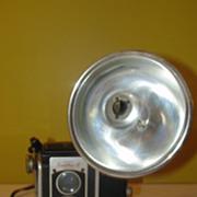 Smile for the Kodak Duraflex III Box Camera with Flash
