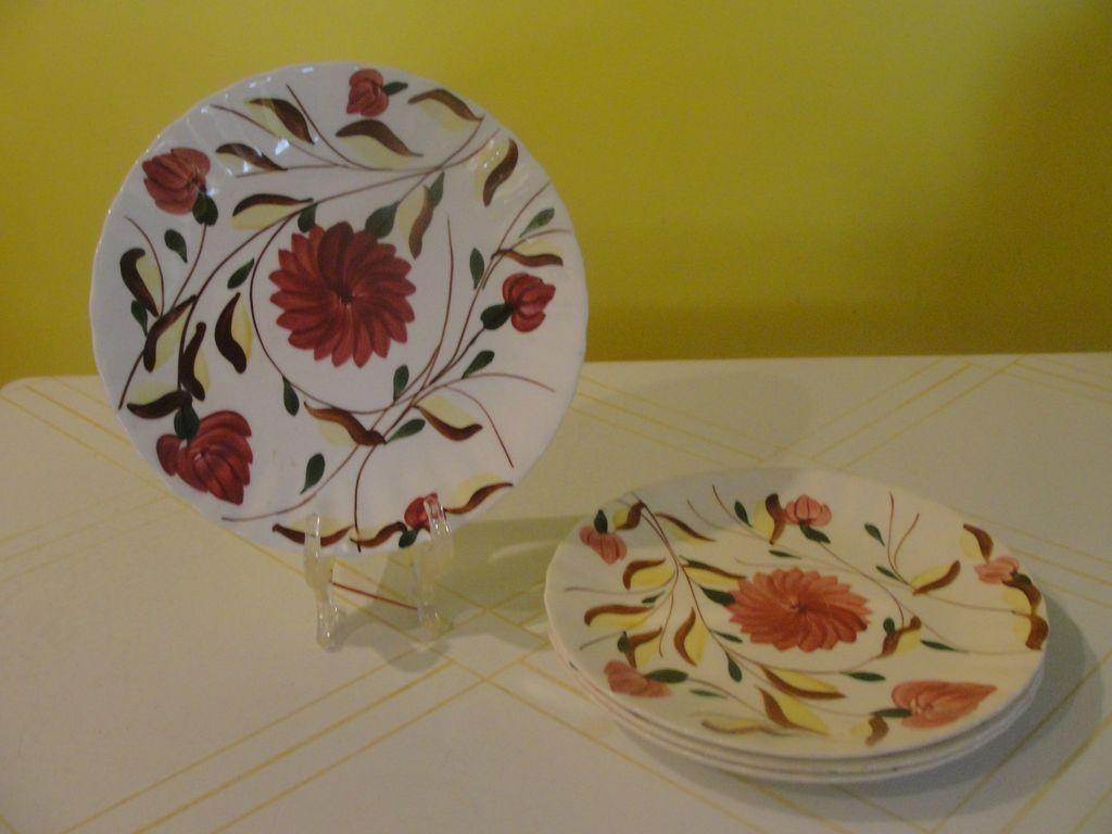Blue Ridge Southern Pottery Laura Dinner Plates