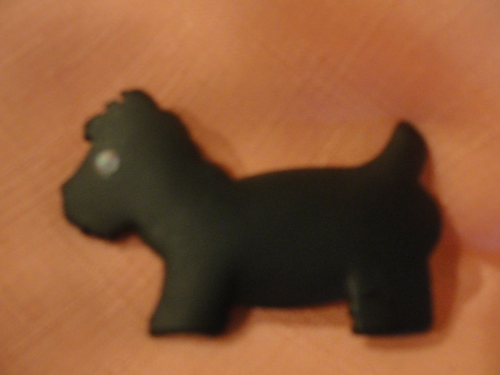 Black Scottie Dog Pin - Free shipping