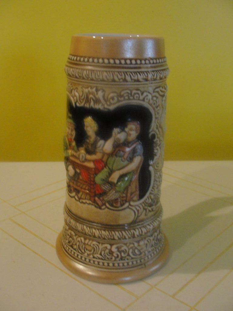 """Drink When it Tastes Good"" Ceramarte Beer Stein"