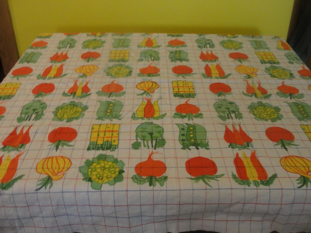 Heaping Helping of Veggies Tablecloth