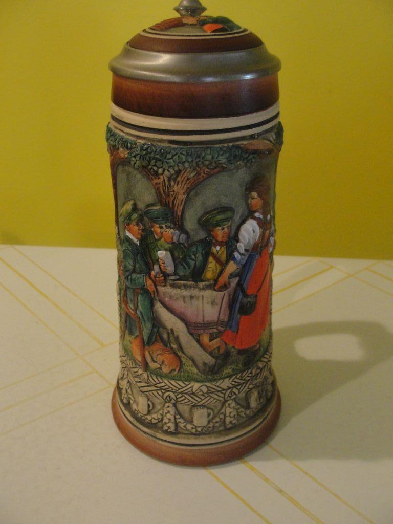 Das Schwarz Beer Stein Alt Grenzau 1894