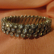 Diamond Girl Rhinestone Stretch bracelet - Free shipping