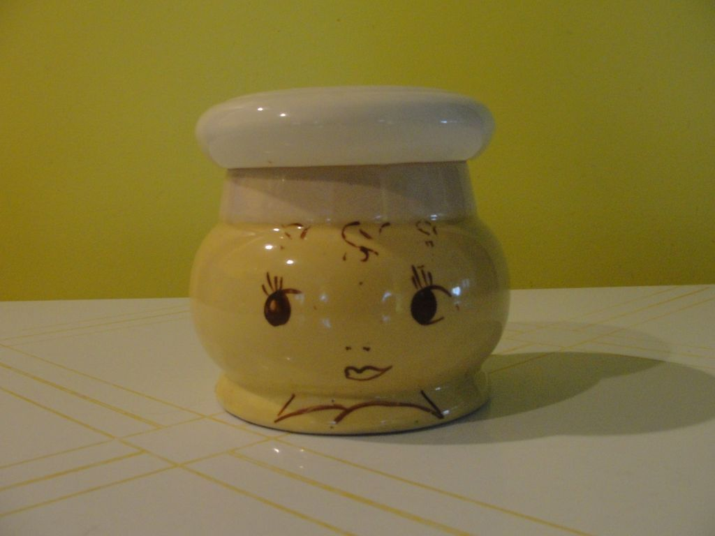 Hand Painted Chef - Drip Grease Jar