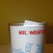 Mr Weatherbee Drops In - Jelly Jar Glass