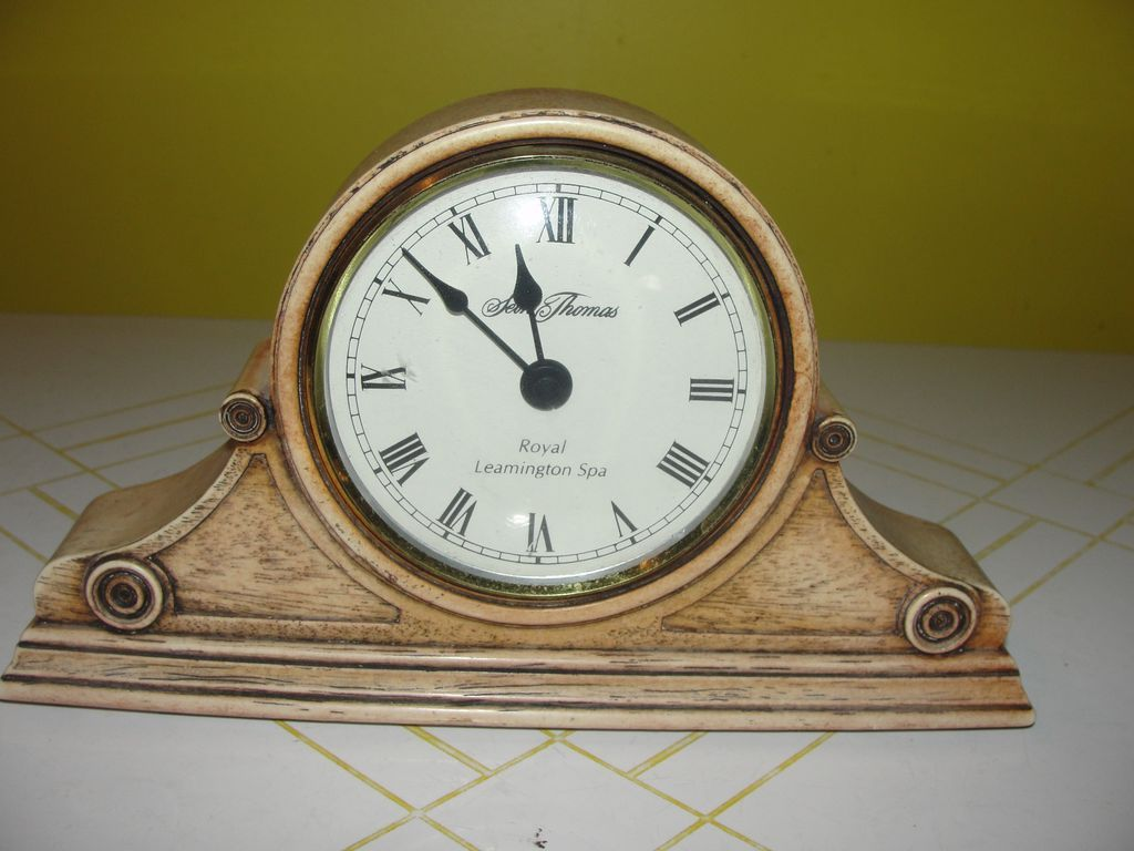 ''Ascot'' Seth Thomas Royal Leamington Spa Clock