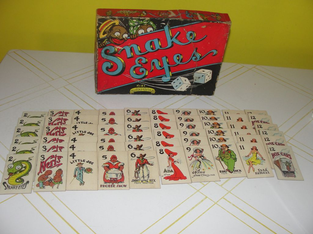 snake eyes card game