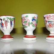 Geisha Girl Egg Cups - b127