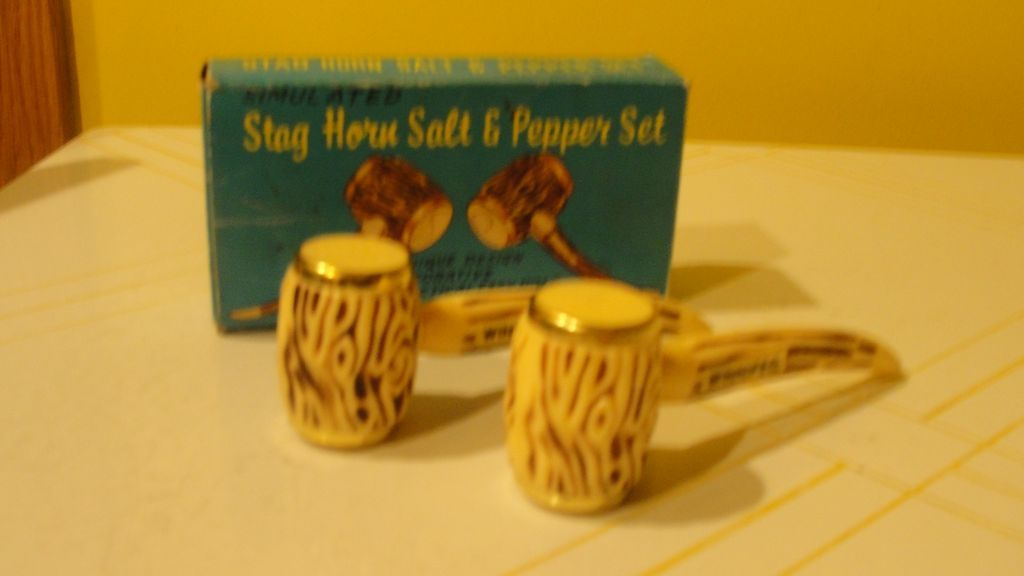 Put That in Your Pipe Salt and Pepper Shakers - b 132