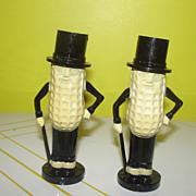 Planter's Mr Peanut Salt and Pepper Shakers