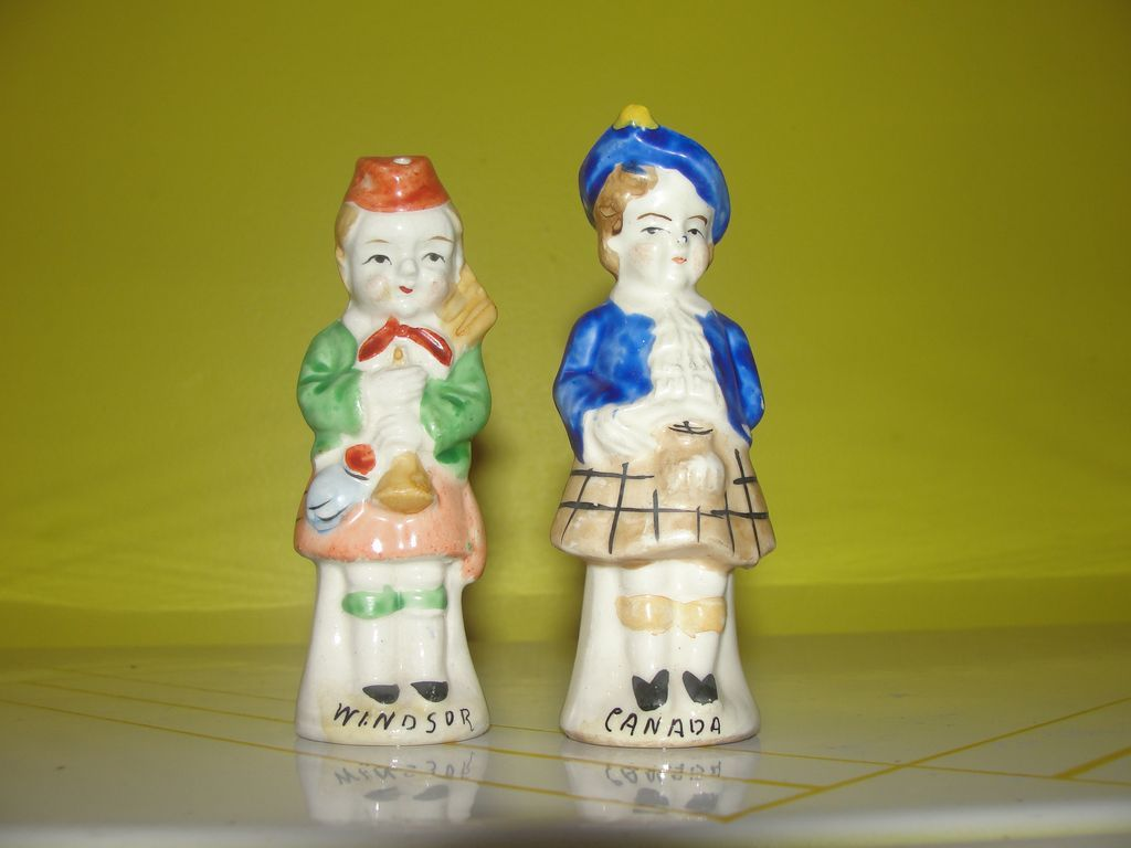 Bag Pipers Windsor, Canada Salt and Pepper Shakers