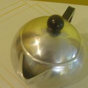 Roly Poly Round Mirro Tea Pot - b136