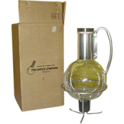 Chicago's Own Weico Mid Century Coffee Carafe in Box - G