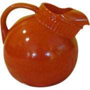 Orange Ya Glad Ball Tilt Jug/Pitcher - b139