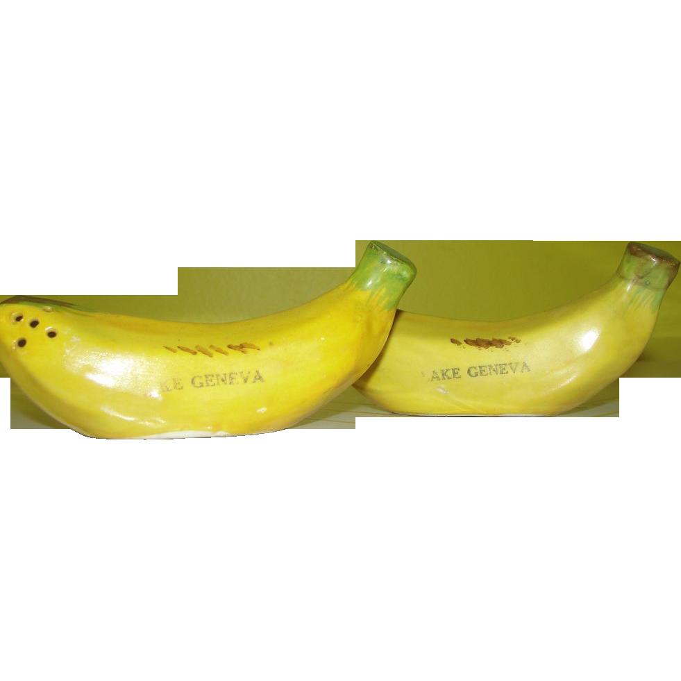 Going Bananas Salt and pepper shakers