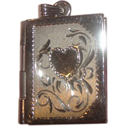 Open Book Double Locket - Free Shipping