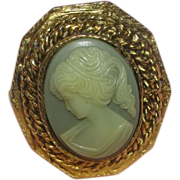 Cameo Lady in Profile Ring - Free shipping