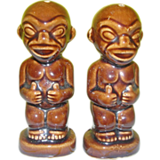Kon Tiki Salt and Pepper Shakers