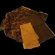 Autumnal Trio of Scarfs - Free shipping - b143